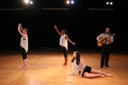 """Shift"", PC: Amy Smith, Dancers: Elisa Turner, Lena Silva, and Kate Rash, Musician: William vonReichbauer"