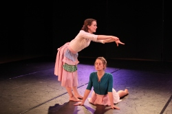 """Good Feet, Long Hair and other words of wisdom"", PC: Amy Smith, Dancers: Rice Dance Theatre"