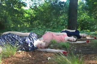 """Dark Waters"" PC: Amy Smith Dancers: Anna Clare Harris, Joanna Bowen, and Elaine F.K. Fields"