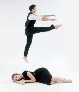 """""""Madness, Memories, and Woe"""" Dancers: Cloe Leppard and Donald Sayre Photo: Pin Lim"""