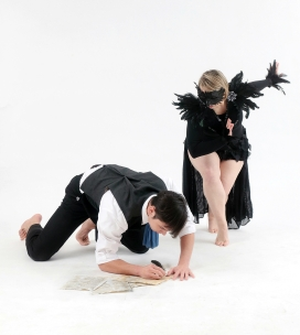 """Madness, Memories, and Woe"" Dancers: Shanon Adame and Donald Sayre Photo: Pin Lim"