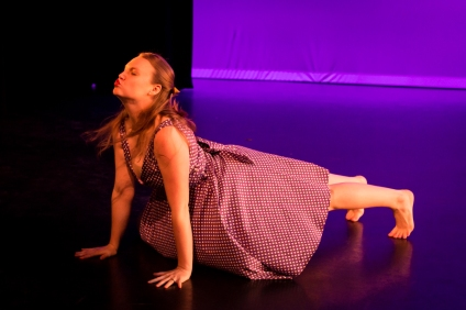 "Good Feet, Long Hair, and other words of wisdom"" Dancer: Anna Clare Harris Photo: Lynn Lane Mind the Gap, 2017"