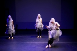 """Madness, Memories, and Woe. PC: Pin Lim, Dancers: Shanon Adame, Elaine F. K. Fields, and Cloe Leppard"