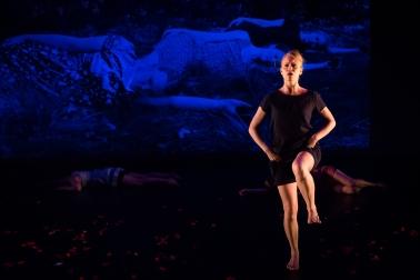 """Dark Waters"", Barnstorm 2017, Photo: Lynn Lane, Performer: Joanna Bowen"
